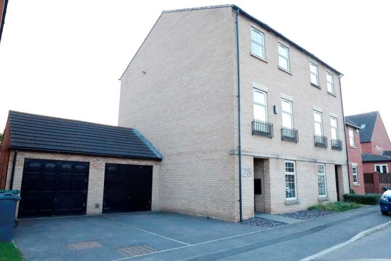 4 Bedrooms Semi Detached House for sale in Carlton Gate Drive, Kiveton Park, Sheffield S26