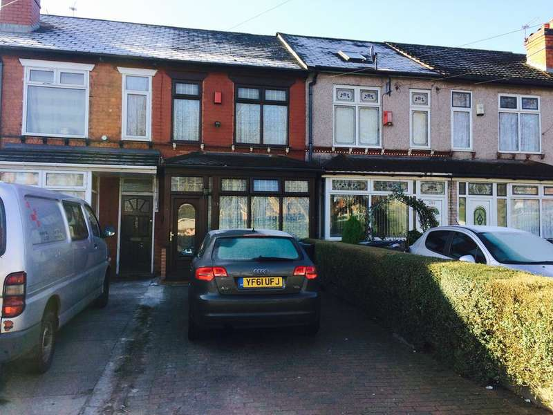 3 Bedrooms Terraced House for sale in Somerville Road, Small Heath, Birmingham B10