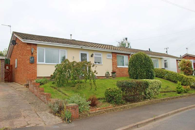 3 Bedrooms Detached Bungalow for sale in Copse Close, Watchet