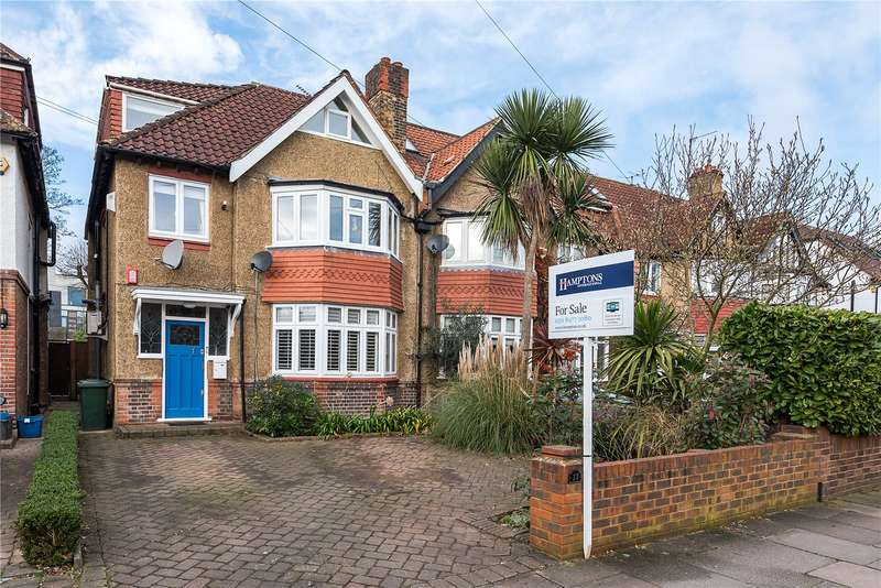 5 Bedrooms Semi Detached House for sale in Elmfield Avenue, Teddington, TW11