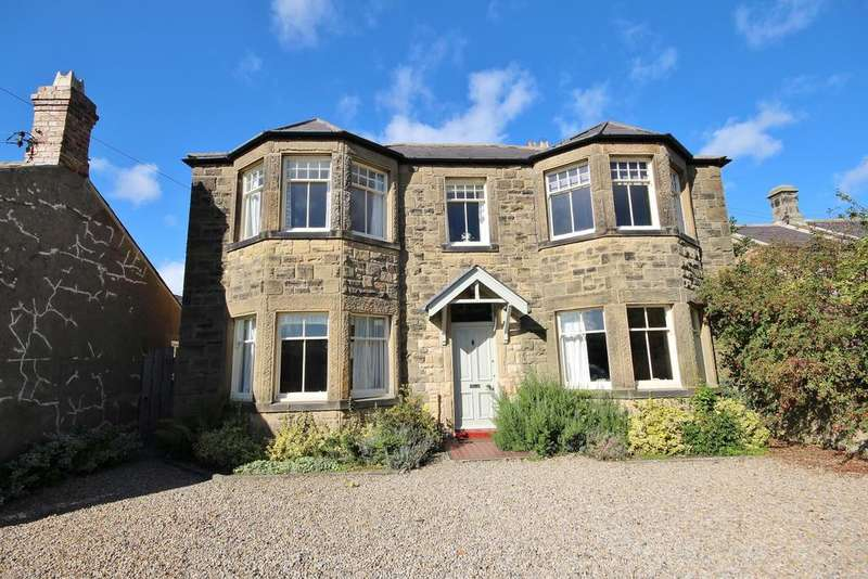 4 Bedrooms Detached House for sale in Greycroft, 38 The Village, Christon Bank, Alnwick, Northumberland NE66