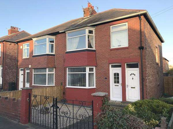 2 Bedrooms Flat for sale in St Albans Crescent, Heaton, Newcastle upon Tyne NE6