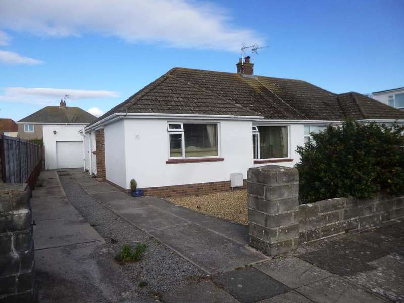 3 Bedrooms Semi Detached Bungalow for sale in Nottage, Porthcawl CF36