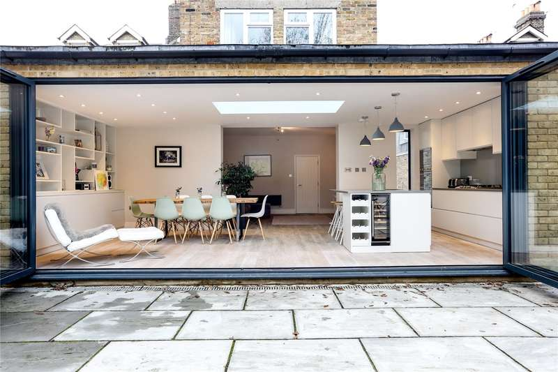 4 Bedrooms Semi Detached House for sale in Earlsfield Road, Wandsworth, London, SW18