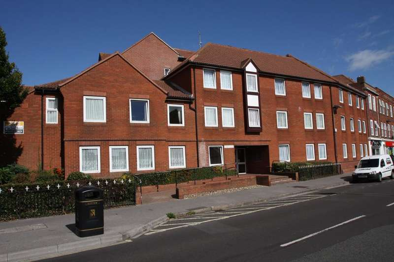 2 Bedrooms Retirement Property for sale in Homefort House, Stoke Road, Gosport PO12