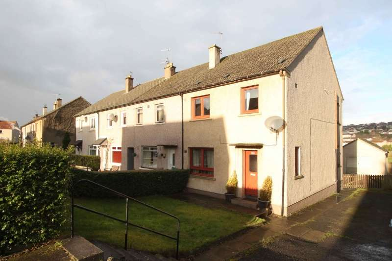 3 Bedrooms End Of Terrace House for sale in Clunie Road, Dunfermline, Fife, KY11 4EQ