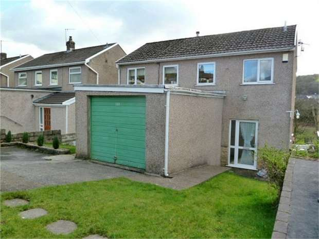 3 Bedrooms Detached House for sale in Mill View Estate, Maesteg, Mid Glamorgan