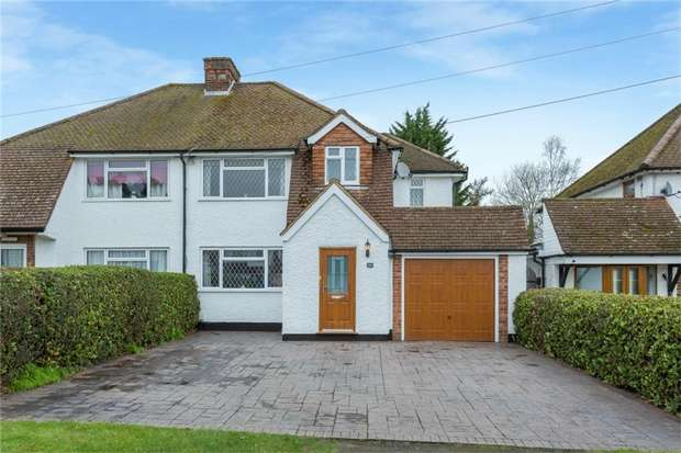 4 Bedrooms Semi Detached House for sale in 94 Ashford Road, Iver Heath, Buckinghamshire