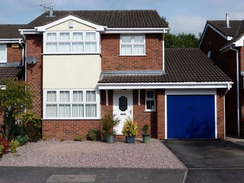 4 Bedrooms Detached House for sale in Charlcote Crescent, Wistaston Crewe