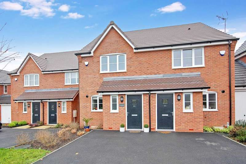 2 Bedrooms Terraced House for sale in Giggetty Lane, Wombourne, Wolverhampton WV5