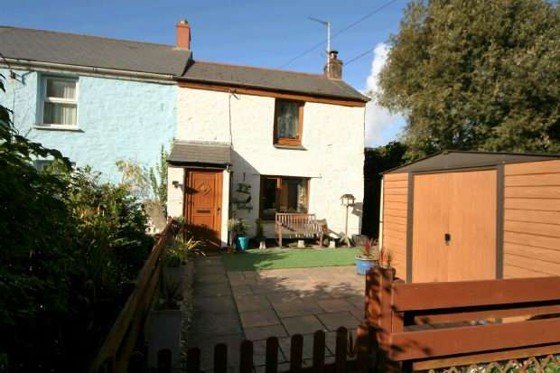 3 Bedrooms End Of Terrace House for sale in Whitehall , Scorrier, Redruth