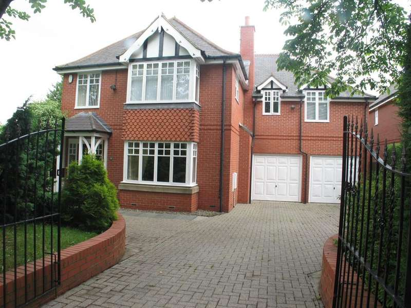 5 Bedrooms Detached House for rent in Brackenfield Road, Gosforth, Newcastle upon Tyne NE3