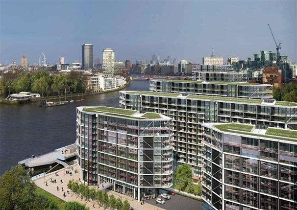 3 Bedrooms Apartment Flat for sale in Riverlight Five Nine Elms Lane