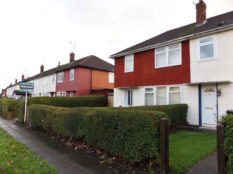 3 Bedrooms End Of Terrace House for sale in Tatton Road Crewe