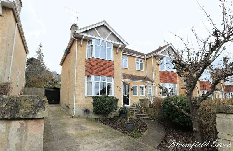 3 Bedrooms Semi Detached House for sale in Bloomfield Grove, Bath