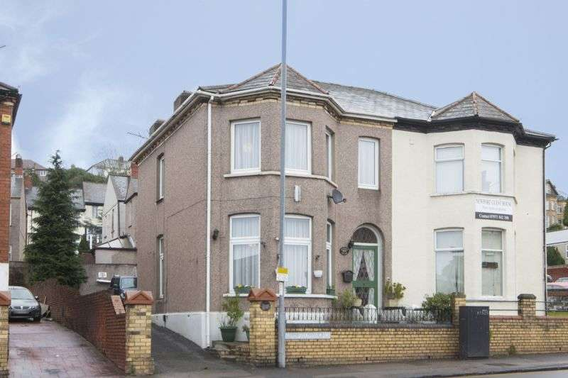 5 Bedrooms Semi Detached House for sale in Chepstow Road, Newport
