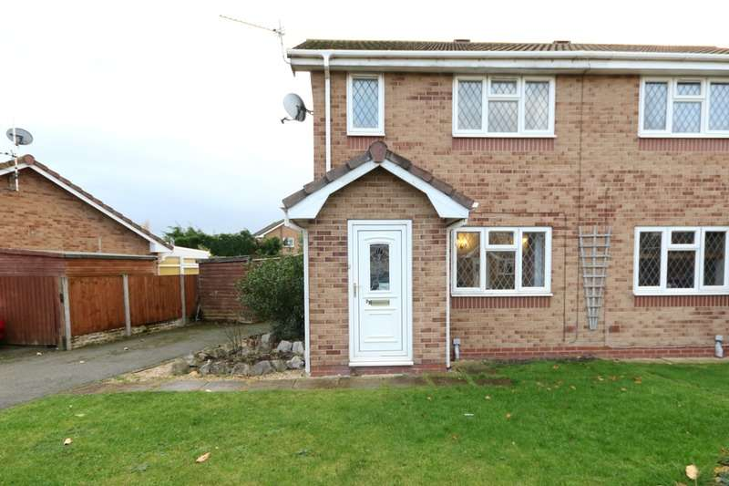 2 Bedrooms Semi Detached House for sale in Lon Glanfor, Abergele, Conway, LL22