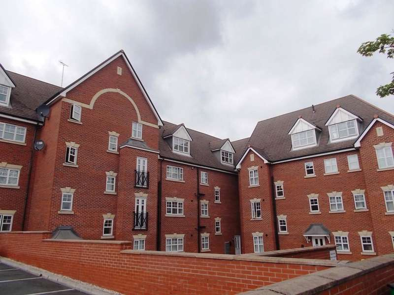 2 Bedrooms Apartment Flat for sale in Ludford Court Crewe Cheshire