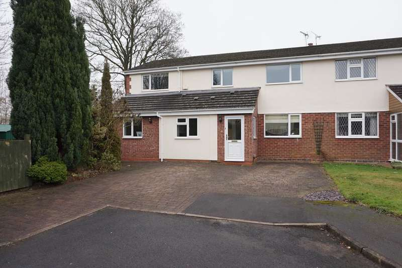 4 Bedrooms Semi Detached House for sale in Alcott Close, Dorridge, Solihull, B93 8QJ