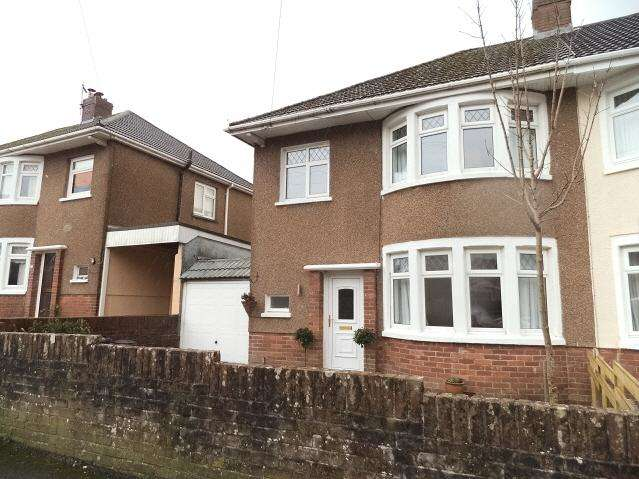 3 Bedrooms Semi Detached House for sale in Penyrallt Avenue, Litchard, Bridgend CF31