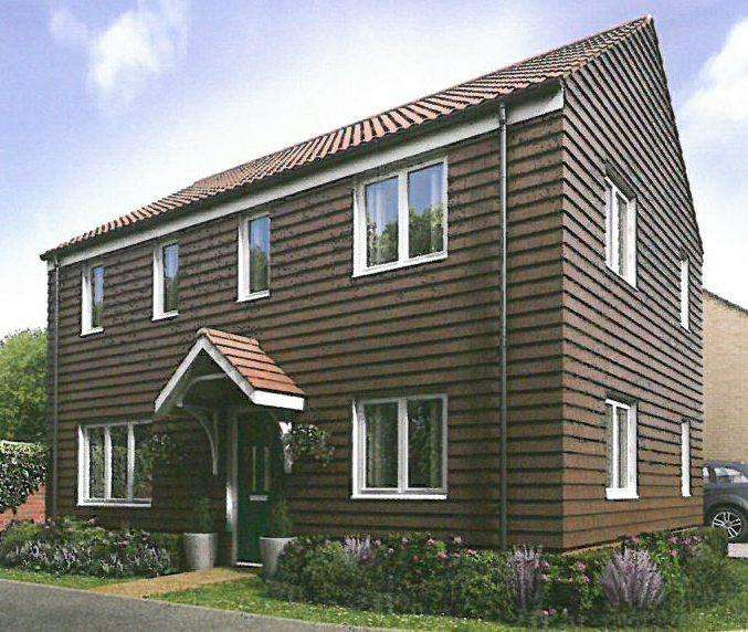 3 Bedrooms Detached House for sale in NEW HOUSE, PLOT 30 HAMILTON GATE, FRINTON ON SEA