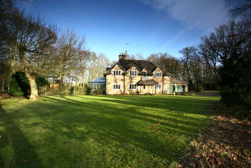 5 Bedrooms Detached House for sale in Juniper House, Gubeon Wood, Tranwell Woods, Morpeth, Northumberland NE61