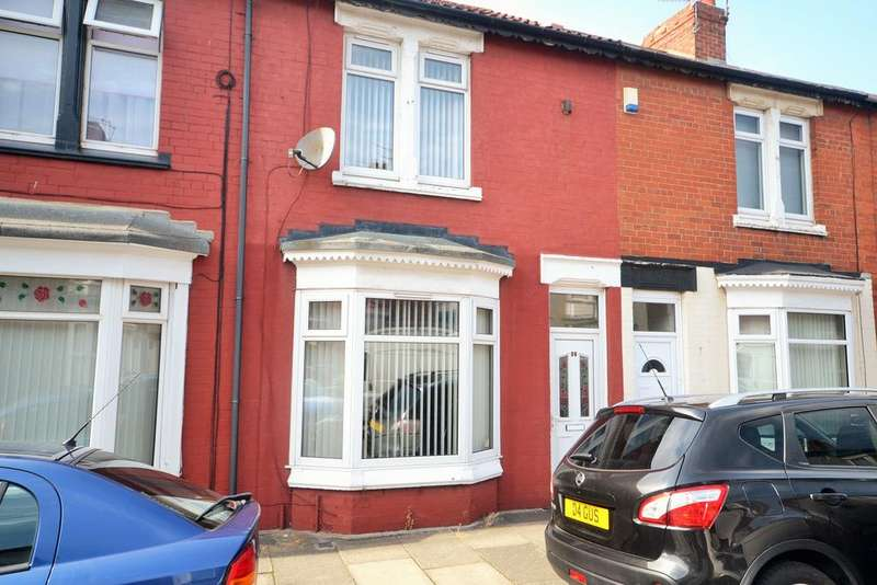 2 Bedrooms Terraced House for sale in Alfred Street, Redcar TS10