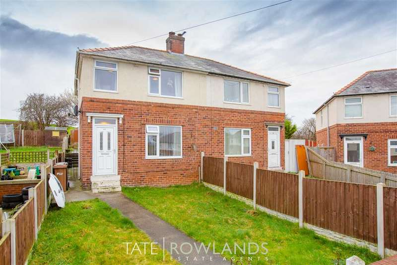 3 Bedrooms Semi Detached House for sale in Maes Y Dre, Flint