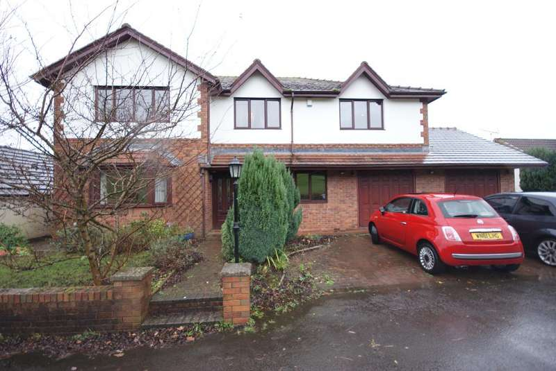 5 Bedrooms Detached House for sale in Railway View, Blackwood NP12