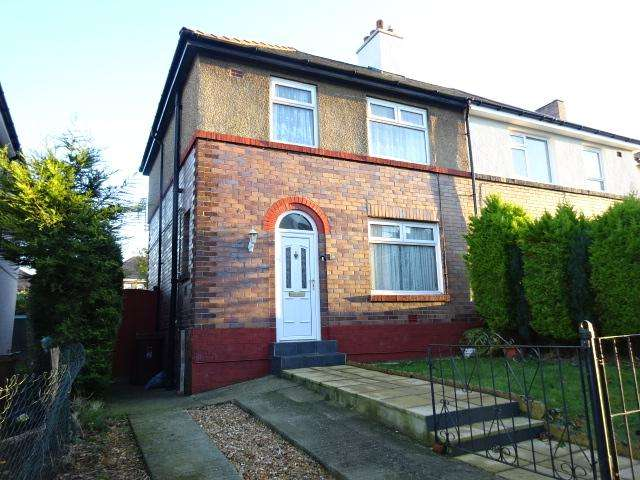 3 Bedrooms Semi Detached House for sale in Lon Y Glyder, Bangor LL57
