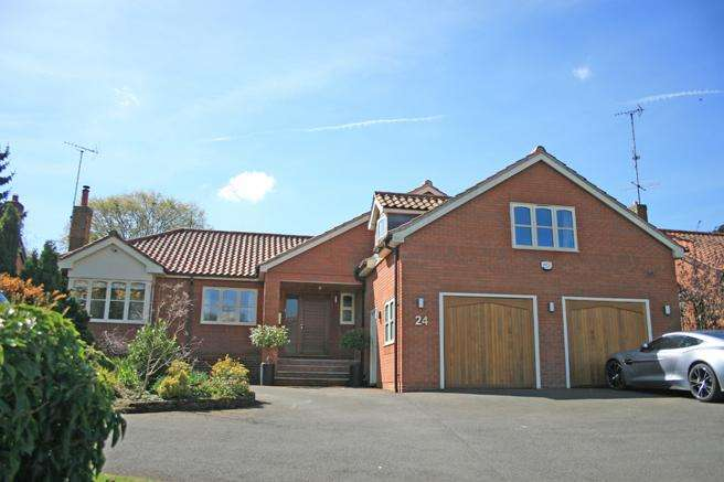 5 Bedrooms Detached House for sale in 24 Main Street, Woodborough, Nottinghamshire NG14