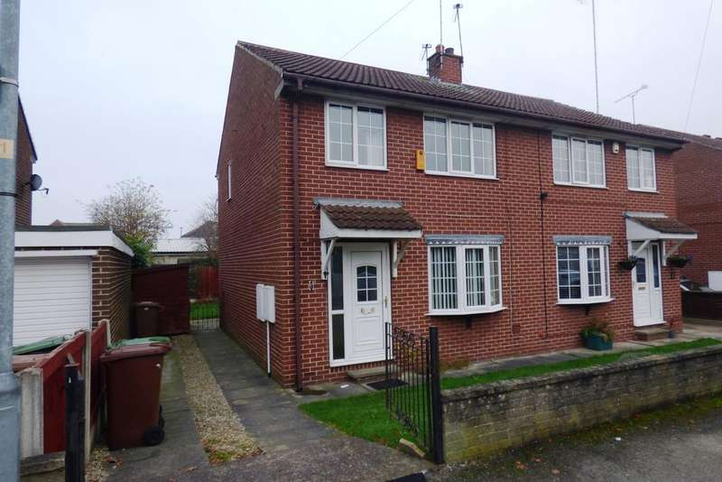 3 Bedrooms Semi Detached House for sale in Lansdown Avenue, South Kirkby WF9