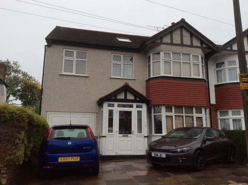 5 Bedrooms Semi Detached House for sale in Priory Avenue, Cheam SM3