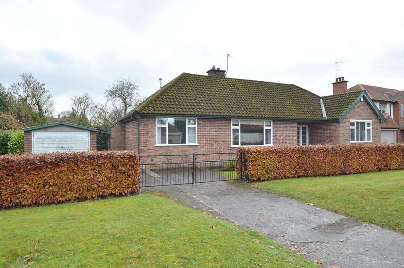 3 Bedrooms Detached Bungalow for sale in The Avenue, Norton, Malton YO17