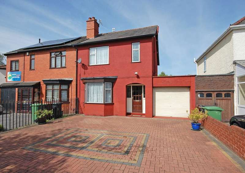 3 Bedrooms Semi Detached House for sale in Oxbarn Avenue, Bradmore, Wolverhampton WV3
