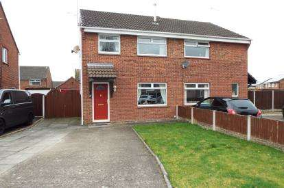 3 Bedrooms Semi Detached House for sale in Ryde Close, Crewe, Cheshire