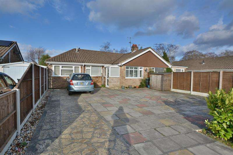 2 Bedrooms Semi Detached Bungalow for sale in Southern Avenue, Ferndown