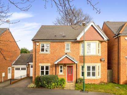 4 Bedrooms Link Detached House for sale in Rowley Drive, Sherwood, Nottingham, Nottinghamshire