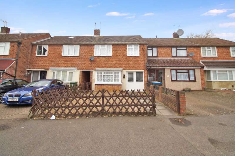 3 Bedrooms Terraced House for sale in Howe Road, Hemel Hempstead