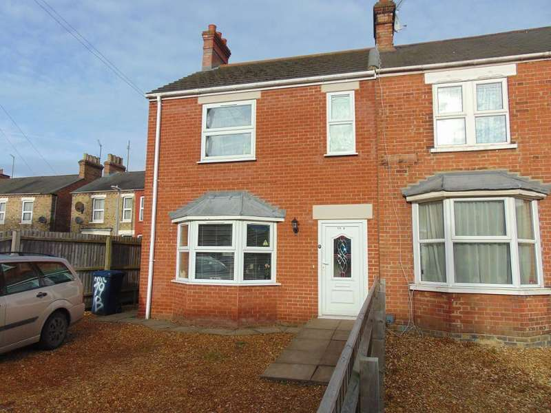 3 Bedrooms End Of Terrace House for sale in Milner Road, Wisbech, Cambs, PE13 2LR
