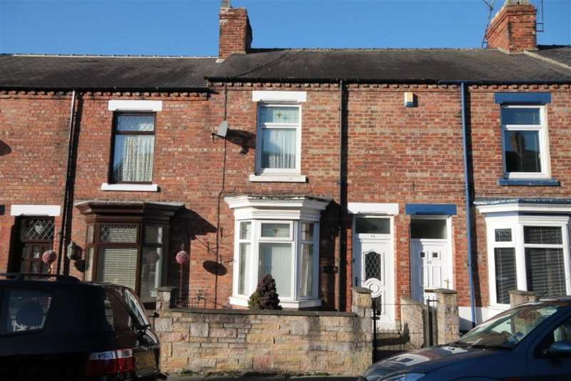 2 Bedrooms Terraced House for sale in Trafalgar Terrace, Darlington, DL3