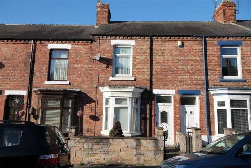 2 Bedrooms Terraced House for sale in Trafalgar Terrace, Darlington, DL3