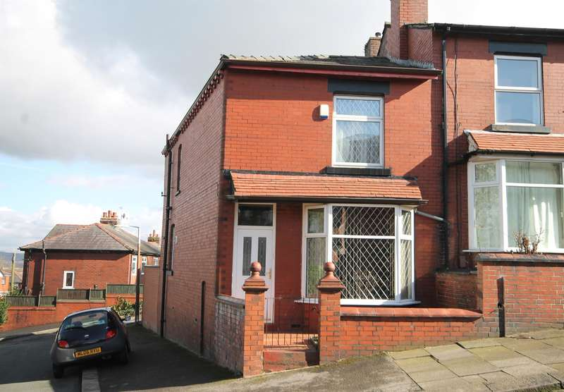 3 Bedrooms End Of Terrace House for sale in Kylemore Avenue, Deane, Bolton, BL3 5RD