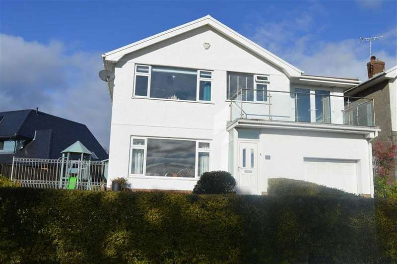 4 Bedrooms Detached House for sale in Higher Lane, Langland, Swansea