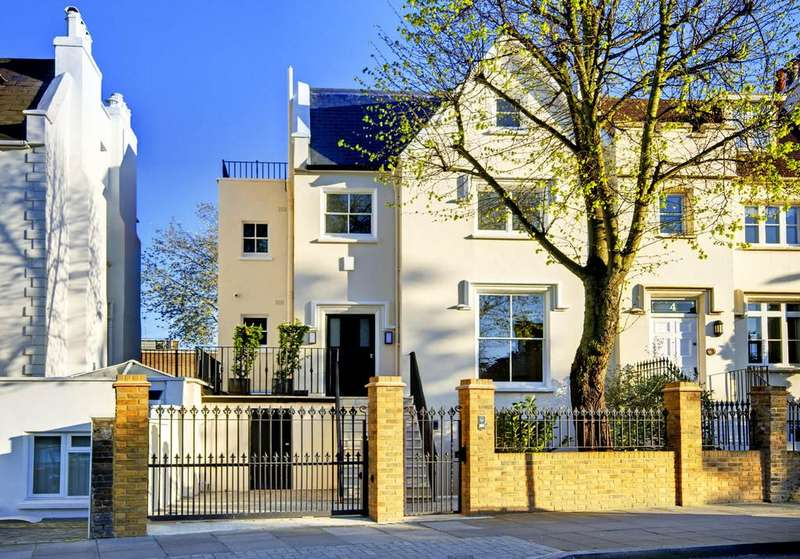 6 Bedrooms Semi Detached House for sale in Acacia Road, St Johns Wood