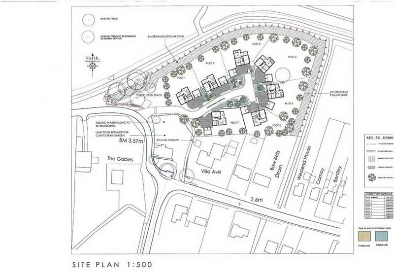 Land Commercial for sale in Hockland Road, Tydd St Giles