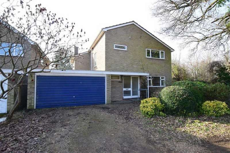 4 Bedrooms Detached House for sale in Elm Road, Tokers Green, Reading