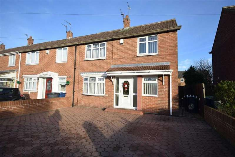 2 Bedrooms End Of Terrace House for sale in Gainsborough Avenue, South Shields