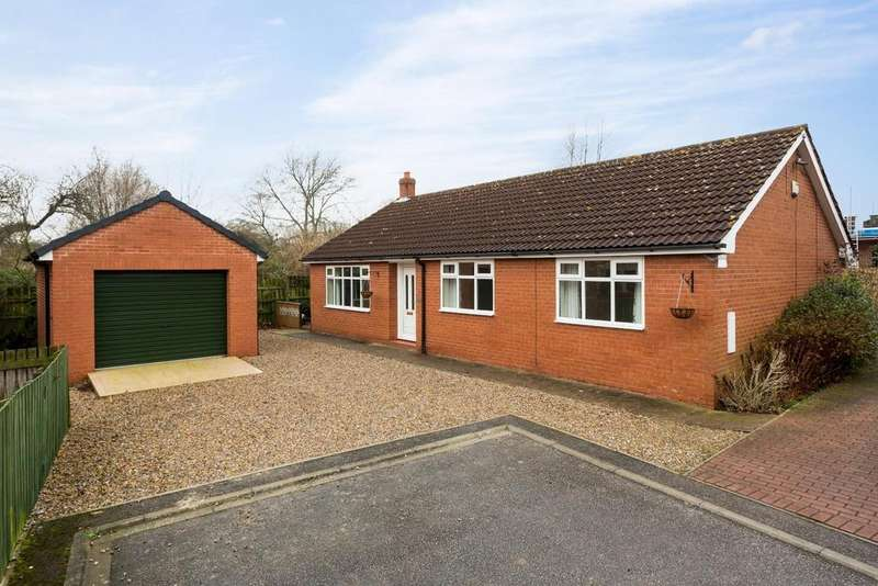 2 Bedrooms Bungalow for sale in Dales Court, Stillingfleet, York