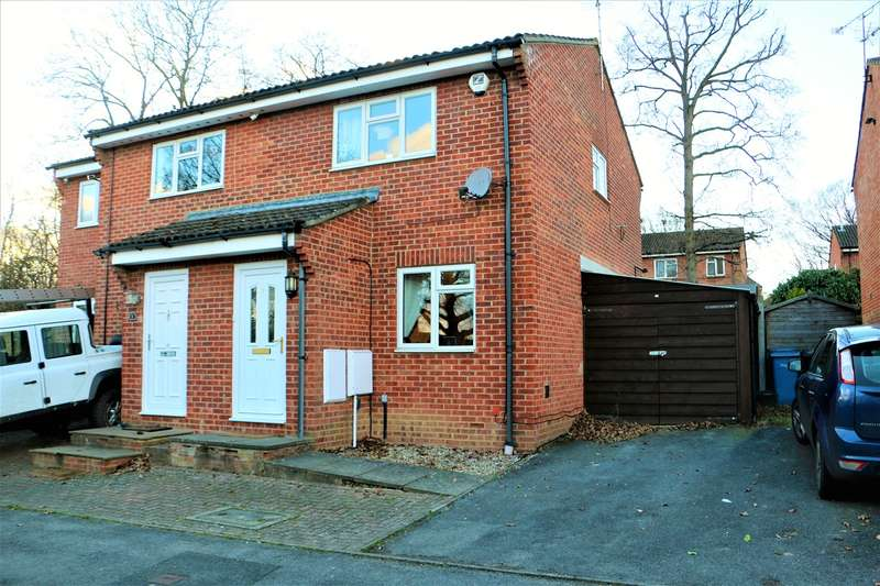 2 Bedrooms Semi Detached House for sale in Coltsfoot Place, Hook, RG27